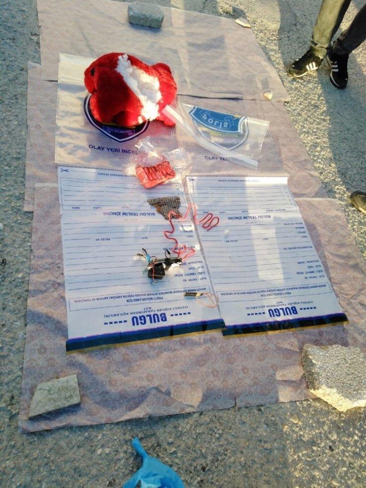 Ereğli'de Oyuncak Ayı İçinde Bomba Yakalandı