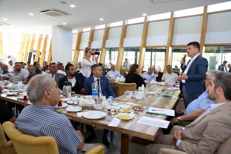 Aksaray'da Muhtarlar İle İstişare Toplantısı