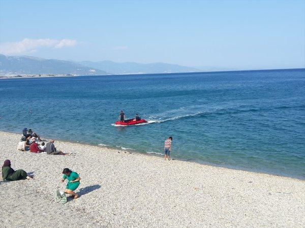 Mersin'de Denizde Kaybolan İki Kişi Aranıyor