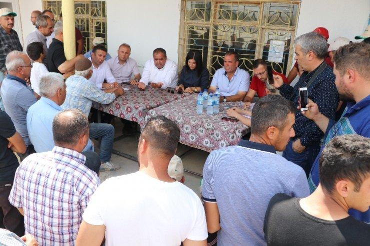 Aksaray'daki Dolu Afetinde Zarar Gören Arazi 20 Bin Dekara Yükseldi