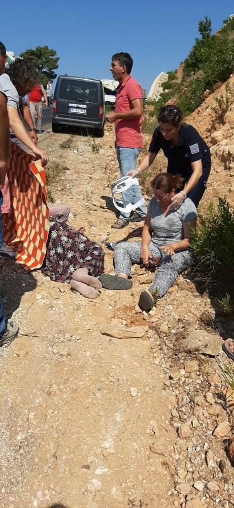 Mersin'de Feci Kazadan Mucize Kurtuluş