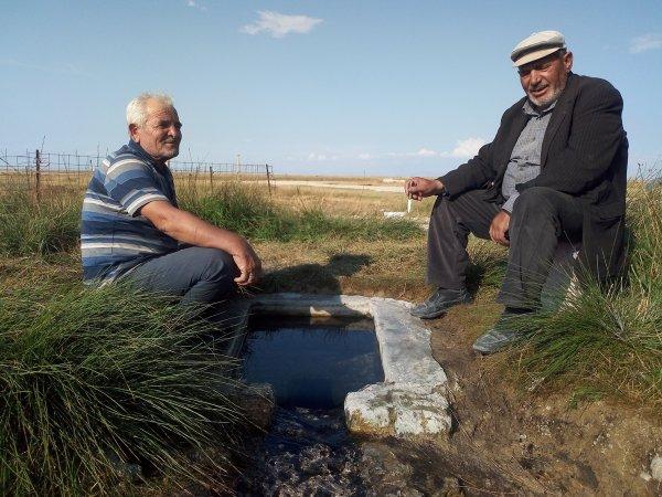 Tuz Gölü Kıyısındaki Tatlı Su Kaynağı