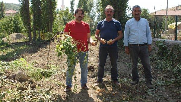 Çubuk'ta İş Makinelerinin Bahçelere Zarar Verildiği İddiası