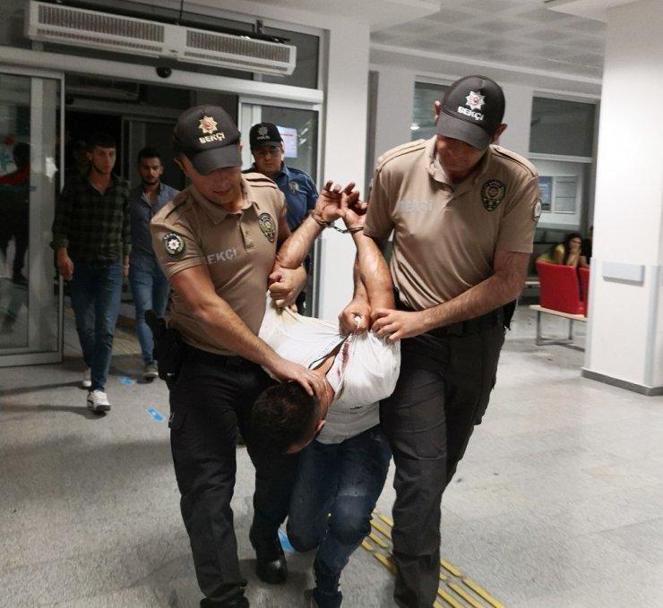 Aksaray'da Alkollü Vatandaş Rahat Durmadı