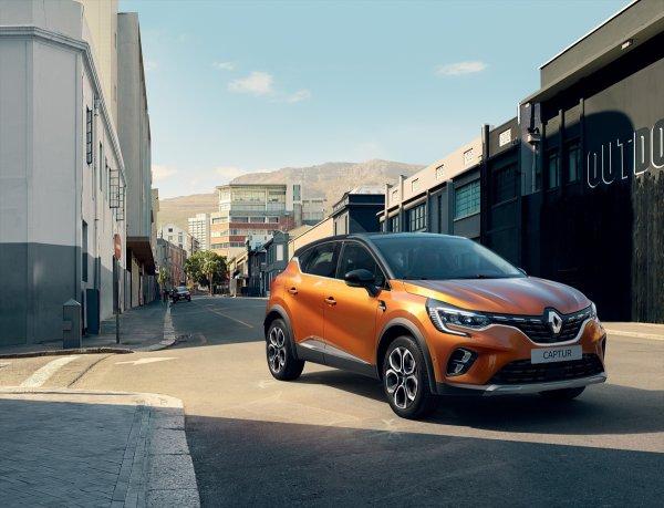 Renault'un Yeni Captur Modeli Frankfurt Otomobil Fuarı'nda