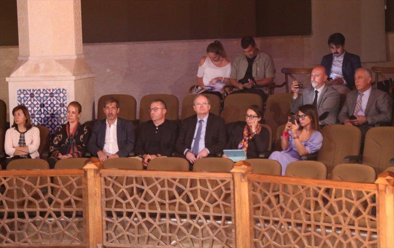 Ab Türkiye Delegasyonu Başkanı Büyükelçi Berger, Konya'da