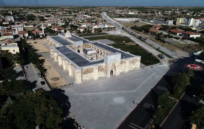 Selçuklu Eseri Sultanhanı Kervansarayı Açılış İçin Gün Sayıyor