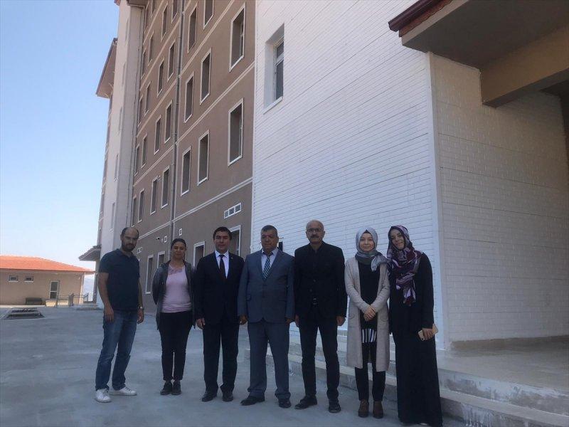 Taşkent Belediye Başkanı Arı'nın Yüksekokul Ziyareti