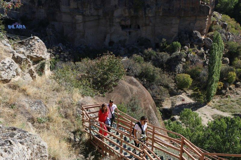 Ihlara Vadisi'ne Ziyaretçi Akını