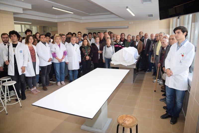Kadavra Bağışıyla Tıp Eğitimine Katkı Sağladı