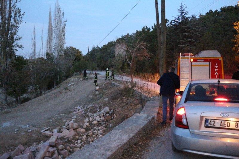 Konya'da bunalıma Giren Vatandaş Kuyuya Atladı