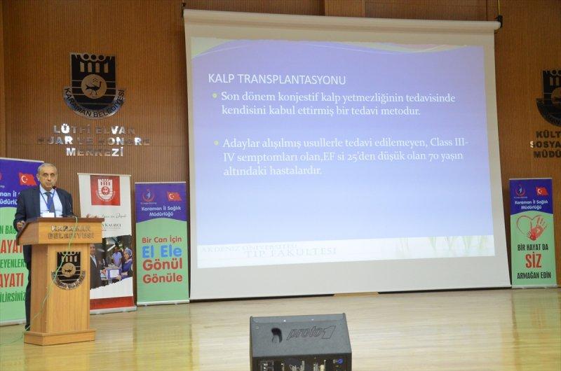 Karaman'da Organ Bağışı Haftası