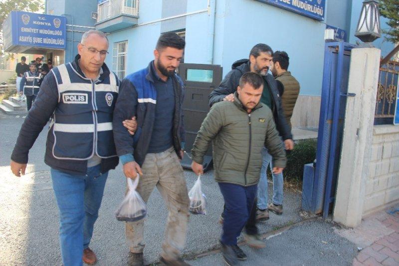 Trafolardan Kablo Çalan 4 Şüpheli Tutuklandı