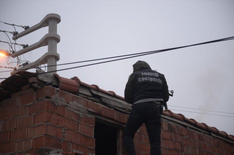 Eskişehir'deki Uyuşturucu Operasyonunda 9 Şüpheli Yakalandı