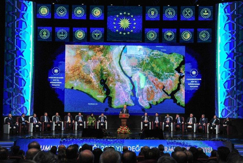 Cumhurbaşkanı Erdoğan 2019 Yılı Değerlendirme Toplantısında Konuştu