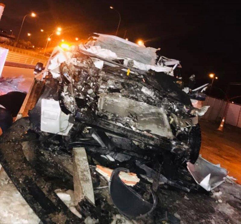 Konya'da Trafik Kazası: 1 Ölü, 3 Yaralı