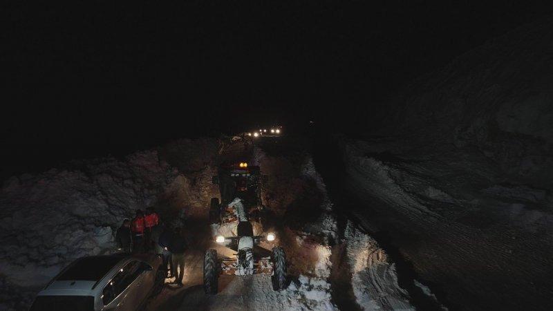 Kayseri'de Çığ Düşen Bölgede Çalışmalar Tamamlandı
