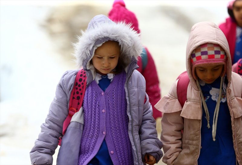 Konya'da Öğrencilerin Zorlu Eğitim Yolculuğu