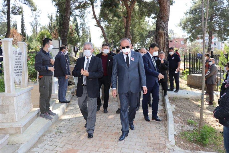 Konya Emniyet Müdürü Mustafa Aydın'ın Babası Antalya'da Defnedildi