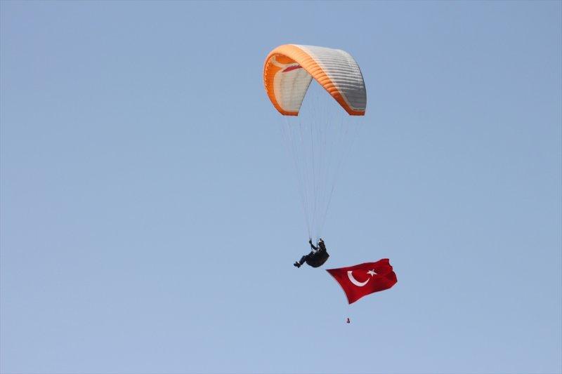 Konya Semalarında Türk Bayrağıyla 19 Mayıs Kutlaması