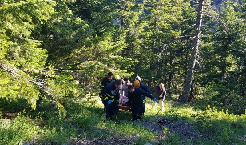 Alanya'da Kamyonet Uçuruma Yuvarlandı: 1 Ölü, 2 Yaralı