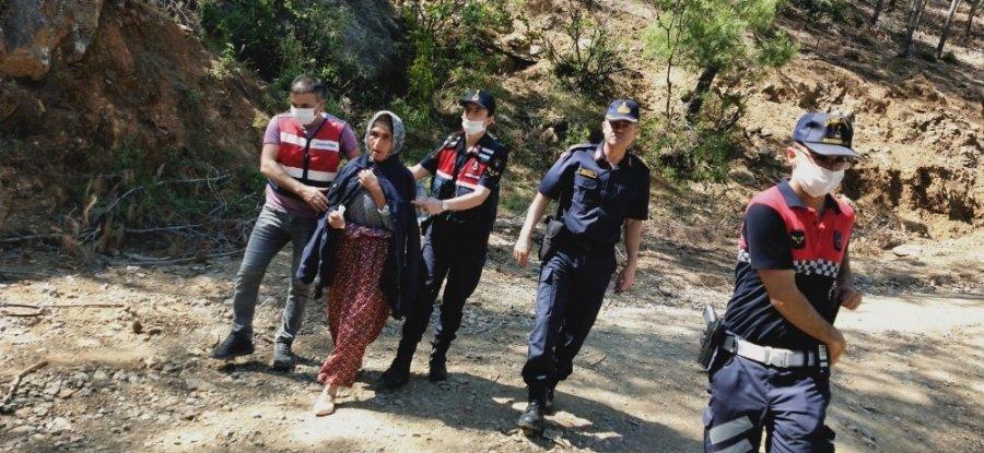 Anamur'da Kayıp Kadın Ormanda Bulundu