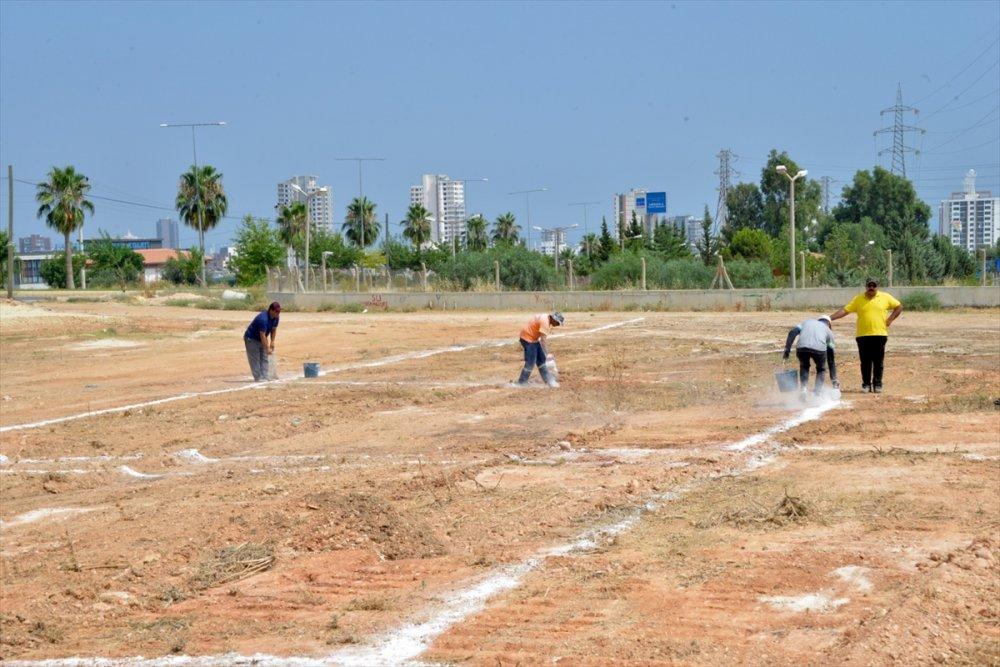 Mersin'de Kurban Satış Alanı Hazırlanıyor