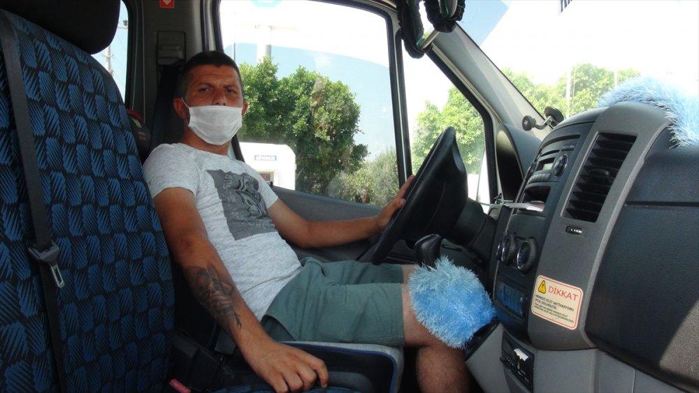 Mersin'de Minibüs Şoförü Meslektaşlarının Hışmına Uğradı
