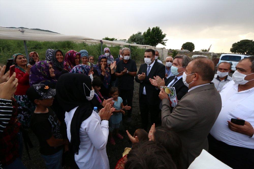 Aksaray Valisi Aydoğdu, Okulunu Bırakan Genç Kızı Duygulandırdı