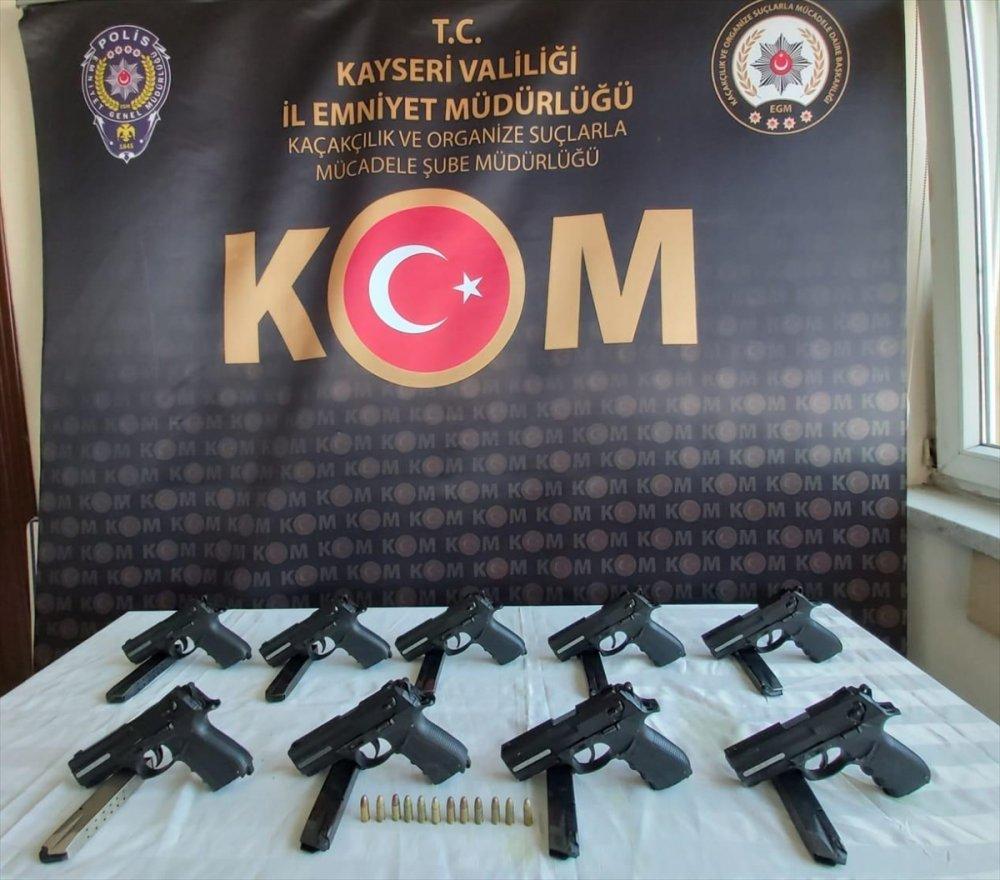 Kayseri'de Silah Kaçakçılığı Operasyonu: 4 Gözaltı