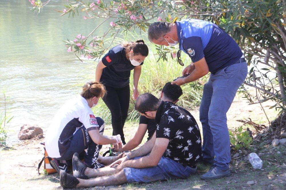 Antalya Serik'te Serinlemek İsteyen Vatandaş Suda Boğuldu