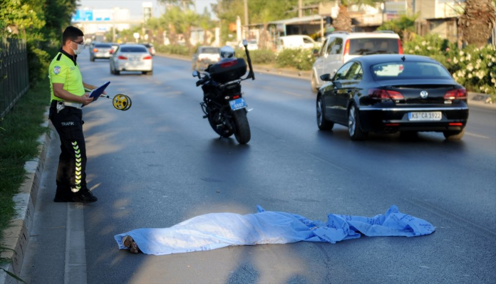 Antalya'da Talihsiz Yaya Hayatını Kaybetti