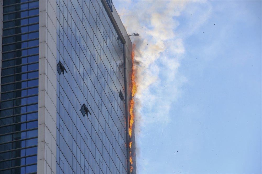 Ankara'da Yangın Paniği