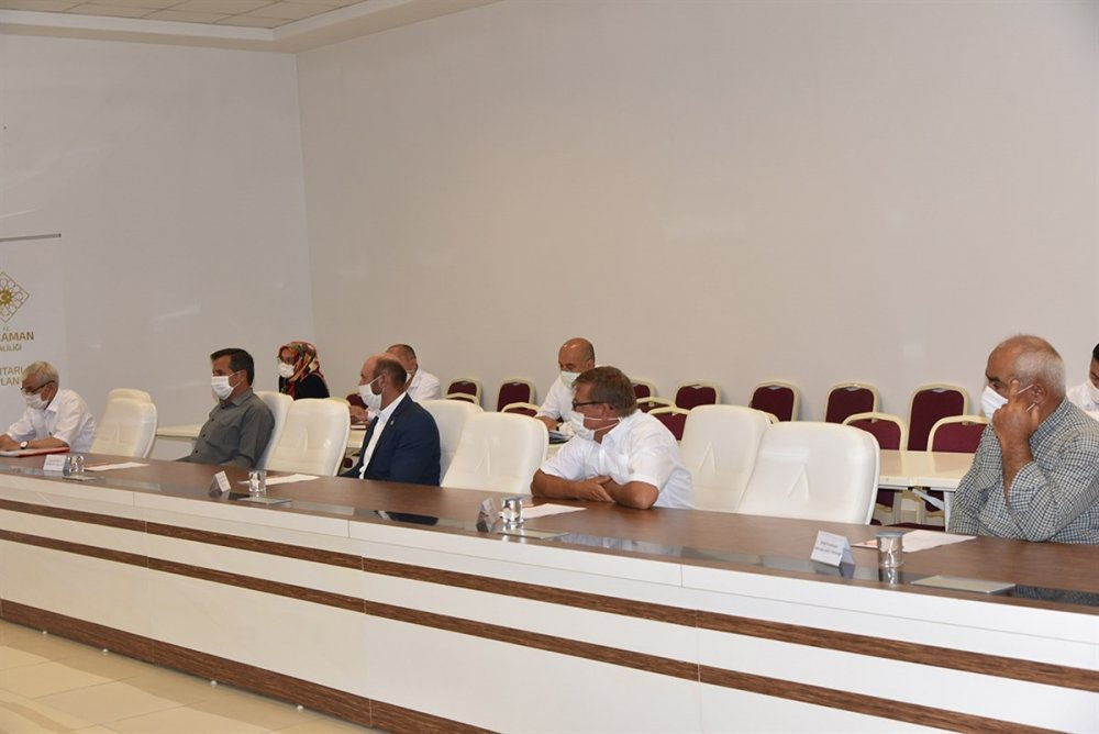 Karaman'da Muhtarlar Toplantısı Yapıldı