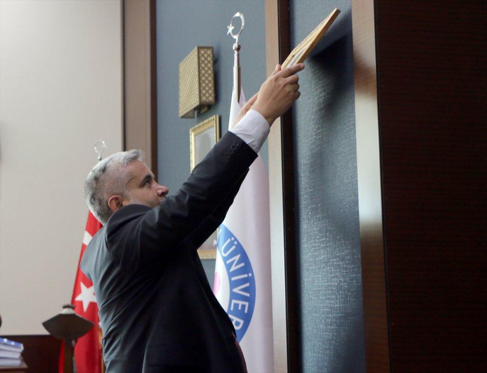 ASÜ Rektörü Prof.dr. Şahin: