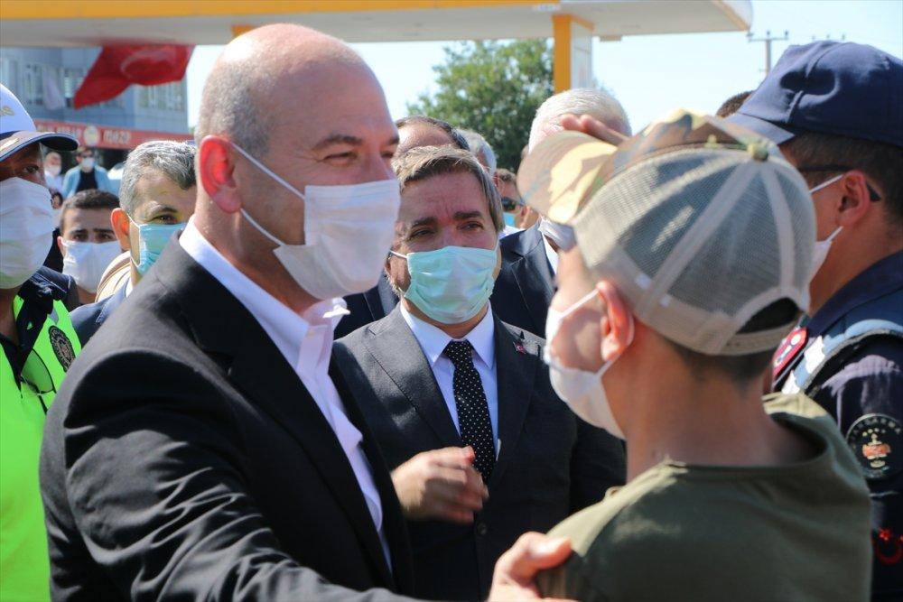 Bakan Soylu Ankara Aksaray Yolunda Denetimlere Katıldı