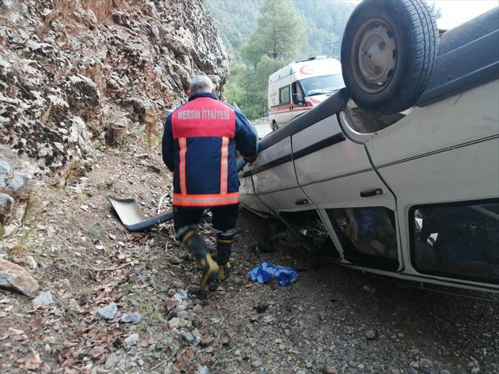 Mersin'de Trafik Kazası
