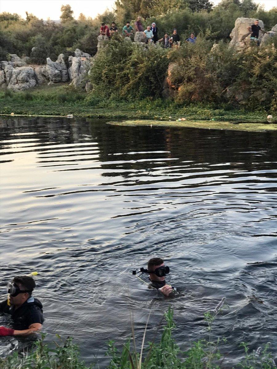 Antalya'da Kanala Giren Bir Daha Çıkamadı