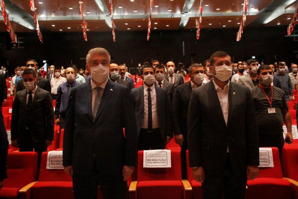 Mhp Melikgazi İlçe Kongresi Yapıldı