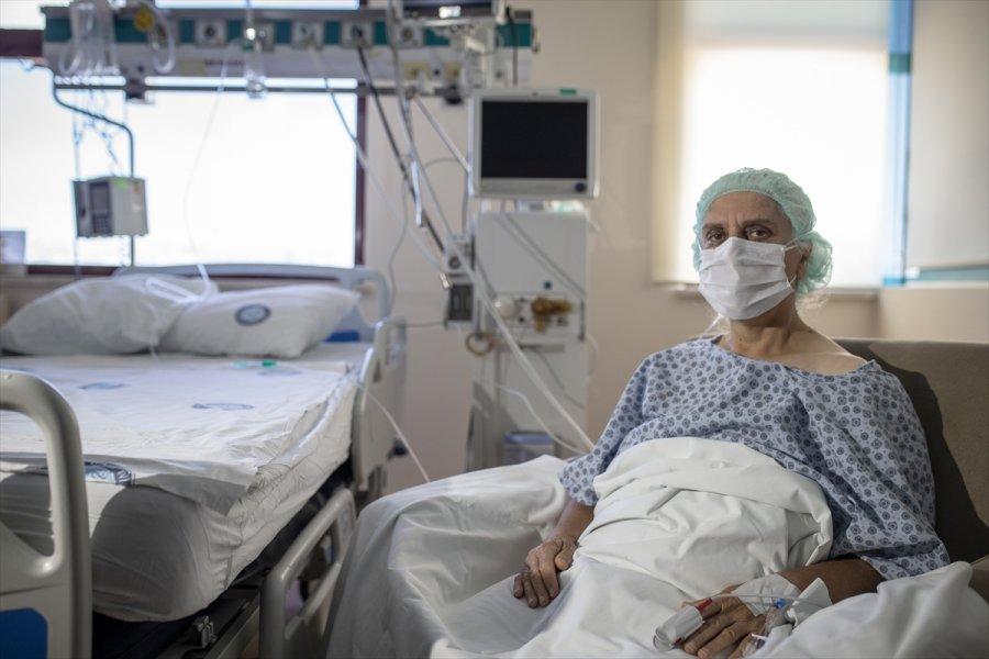 Kovid-19'u Yenen Hasta, Down Sendromlu Torununa Kavuşacağı Günü Bekliyor
