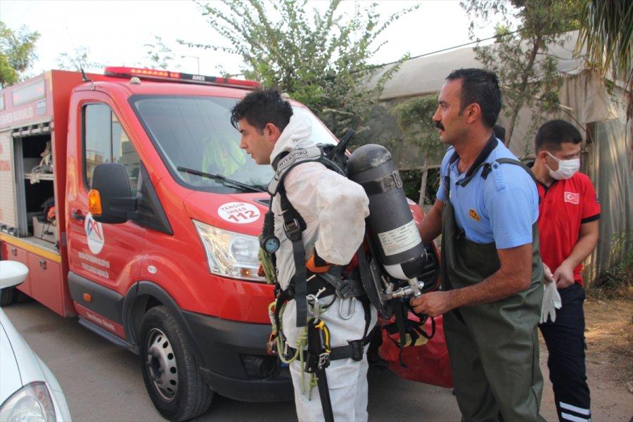 Mersin'de 7 Gündür Kayıp Kişinin Cesedi Su Kuyusunda Bulundu