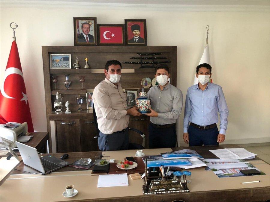 Ak Parti Konya Milletvekili Selman Özboyacı Hüyük'te