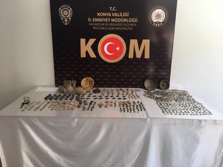 Konya'da Tarihi Eser Kaçakçılığı Operasyonu