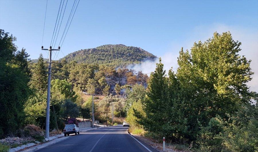 Güncelleme - Antalya'da Çıkan Orman Yangını Kontrol Altına Alındı