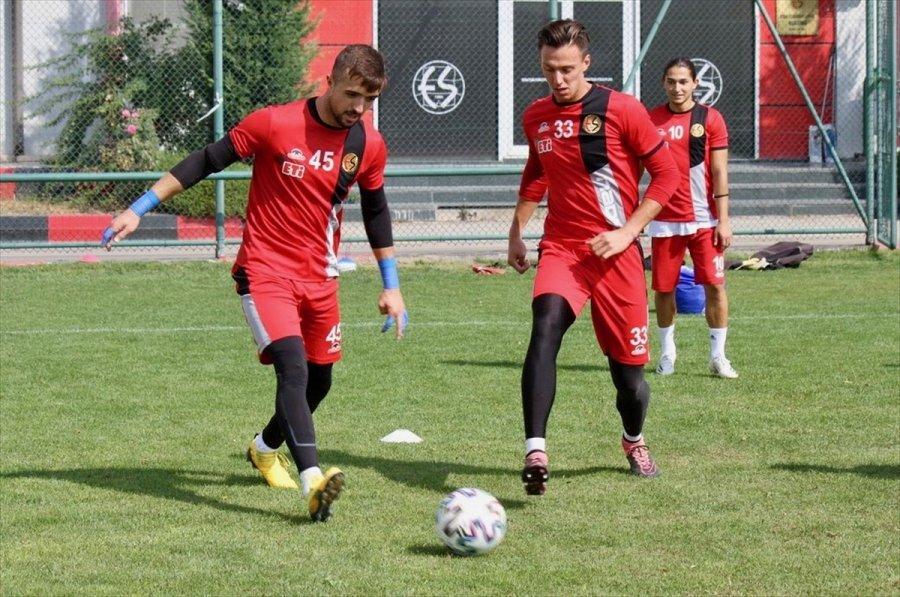 Eskişehirspor'da Altay Maçı Hazırlıkları Sürüyor