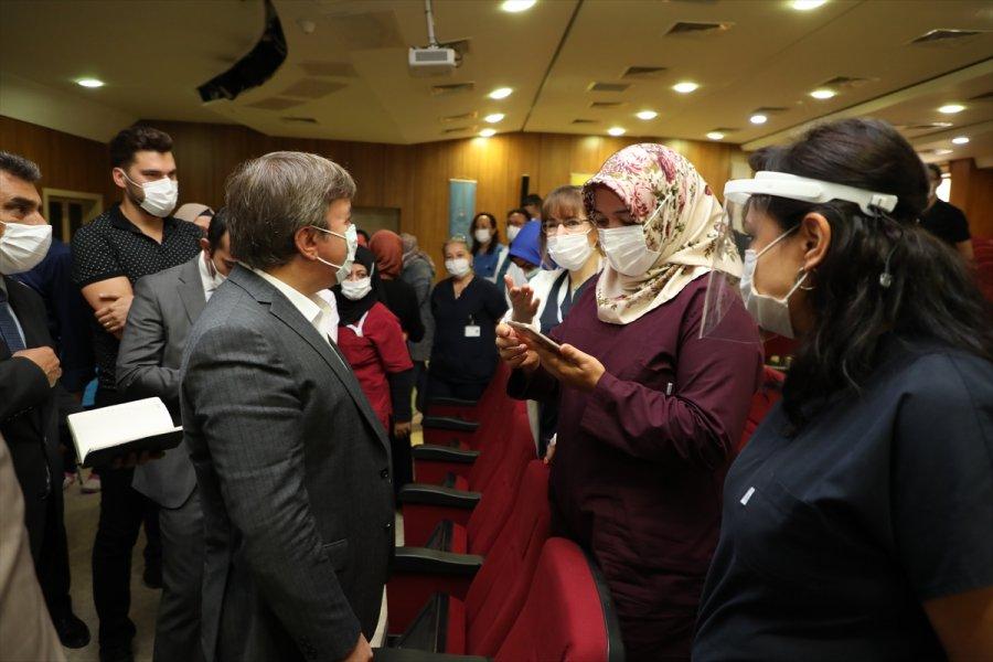 Vali Aydoğdu'dan Sağlık Çalışanlarına Ziyaret