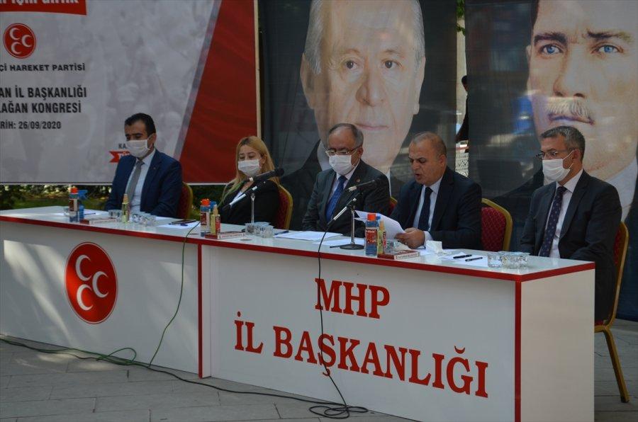 Mhp Genel Başkan Yardımcısı Kalaycı Partisinin Karaman İl Başkanlığı Kongresi'nde Konuştu: