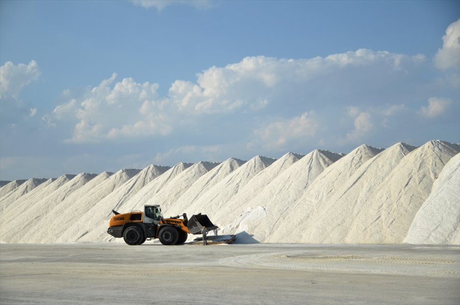 Konya'dan 60 Ülkeye Tuz İhracatı