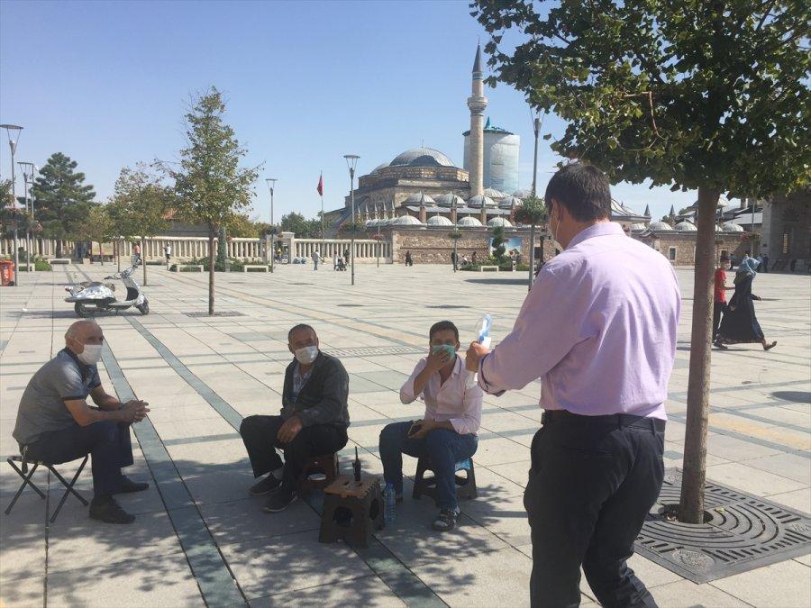 Konya, Aksaray Ve Karaman'da Kovid-19 Tedbirleri Denetimi Yapıldı