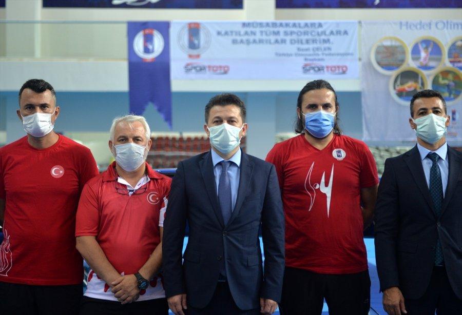 Trampolin Cimnastik Milli Takımı, 2021 Avrupa Şampiyonası'na Mersin'de Hazırlanıyor
